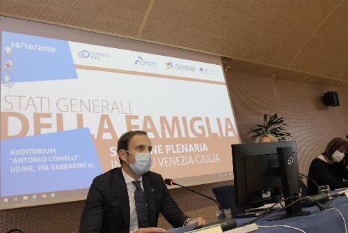 Il governatore del Friuli Venezia Giulia, Massimiliano Fedriga.
