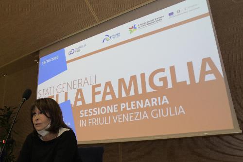 L'assessore regionale alla Famiglia, Alessia Rosolen.