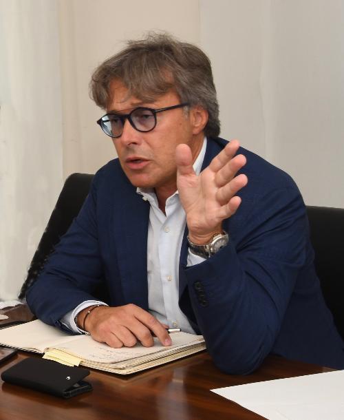 L'assessore regionale alle Attività produttive Sergio Emidio Bini in una foto d'archivio