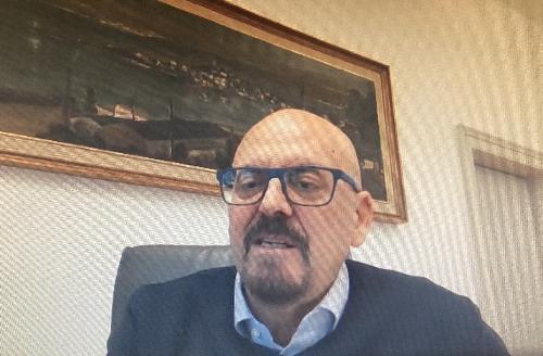 L'assessore regionale al Patrimonio, Sebastiano Callari, interviene al Comitato nazionale Banda ultra larga in qualità di presidente della Commissione Agenda digitale della Conferenza delle Regioni e Provincie autonome