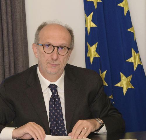 Il vicegovernatore del Friuli Venezia Giulia con delega alla Salute Riccardo Riccardi in una foto d'archivio