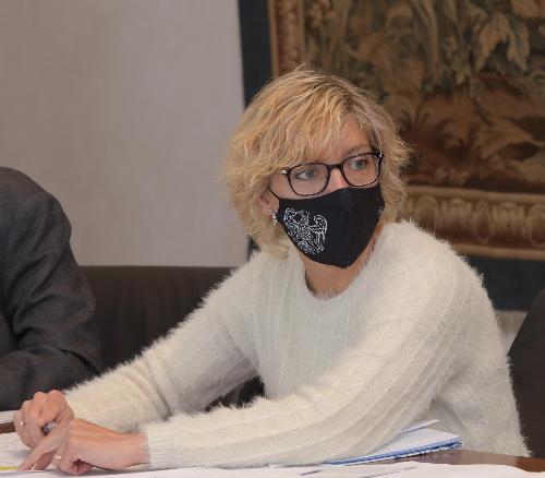 L'assessore alle Finanze con delega specifica ai fondi comunitari Barbara Zilli, in una foto d'archivio