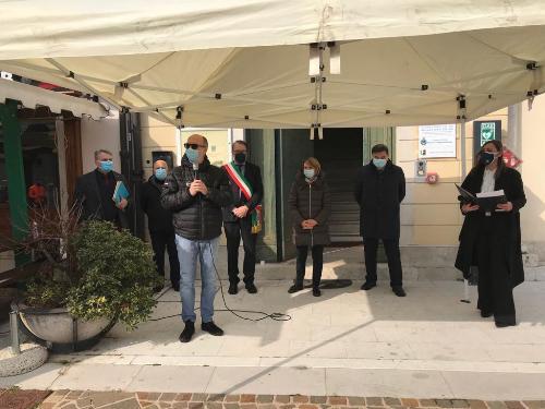 Intervento del vicegovernatore con delega alla Salute del Friuli Venezia Giulia, Riccardo Riccardi, alla cerimonia di consegna degli attestati ai volontari che si sono resi disponibili nel periodo di emergenza Covid-19.