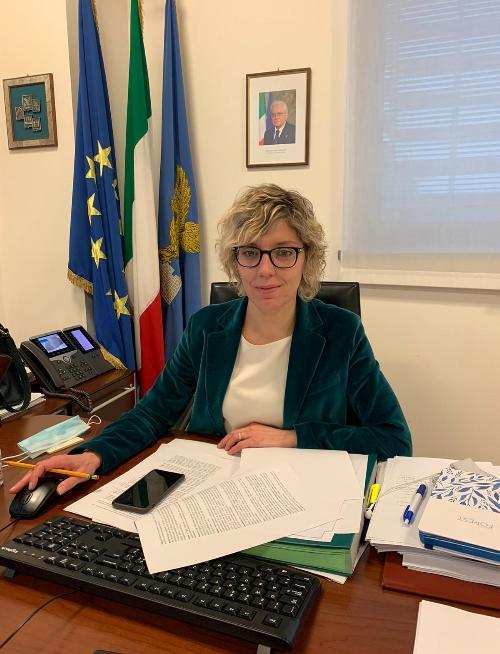 L'assessore regionale alle Finanze Barbara Zilli