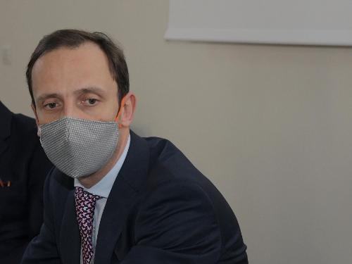 Il governatore del Friuli Venezia Giulia Massimiliano Fedriga.