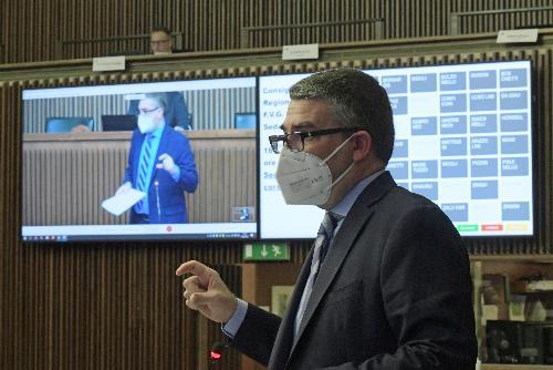 L'assessore regionale alla Sicurezza Pierpaolo Roberti