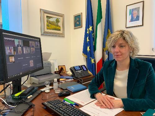 L'assessore regionale alle Finanze con deleghe specifiche sui fondi comunitari,  Barbara Zilli.