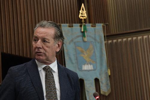 L'assessore regionale alla Difesa dell'Ambiente Fabio Scoccimarro in una foto d'archivio