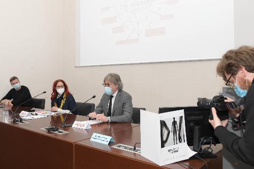 L'assessore regionale alle Attività produttive e Turismo Sergio Emidio Bini alla presentazione di Its 2021