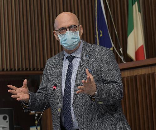 L'assessore regionale al Patrimonio, Demanio, Servizi generali e Sistemi informativi Sebastiano Callari