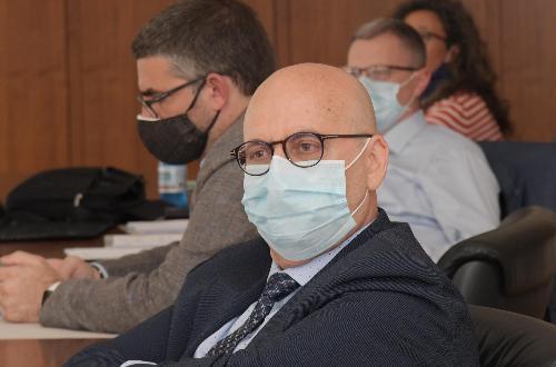 L'assessore regionale al Patrimonio e Demanio Sebastiano Callari