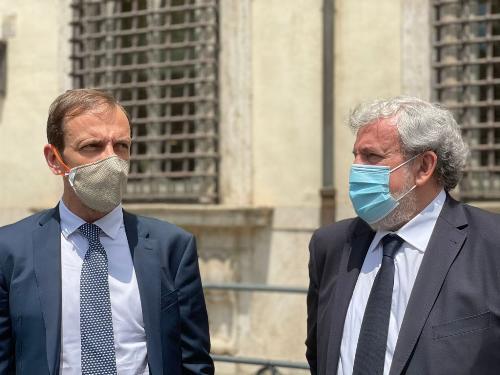 Pnrr: Fedriga-Emiliano, confronto con Draghi è alleanza istituzionale