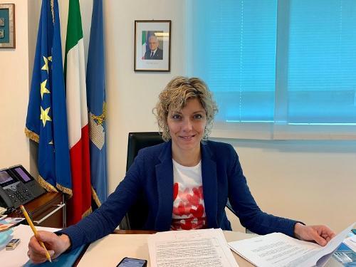 L'assessore alle Finanze Barbara Zilli