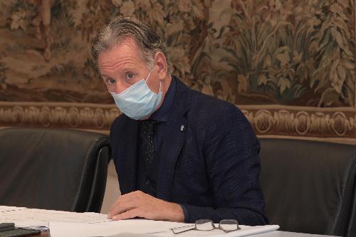 L'assessore regionale all'Ambiente ed Energia Fabio Scoccimarro
