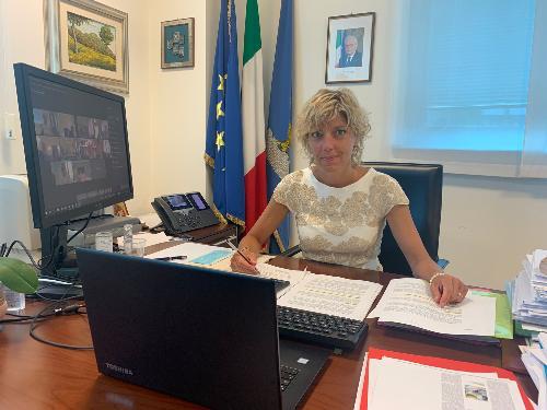 L'assessore alle Finanze del Friuli Venezia Giulia Barbara Zilli.