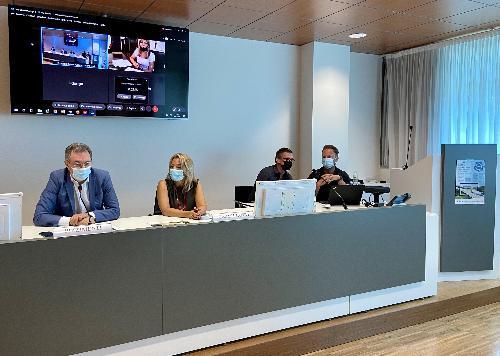 L'intervento dell'assessore Graziano Pizzimenti all'incontro di presentazione del progetto Sweet