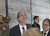 """Gianni Torrenti (Assessore regionale Cultura) al Tempio Ossario per la cerimonia di """"Lettura dell'Albo d'Oro 2014-2018"""" in ricordo dei Caduti della Grande Guerra - Udine 24/05/2014"""